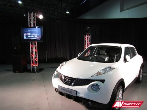 nissan juke white launch