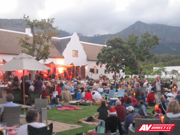 steenberg hotel classical evening