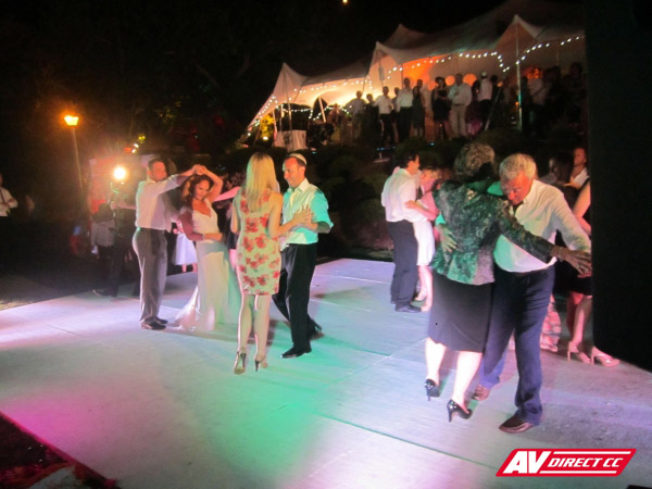 dance floor hire for weddings