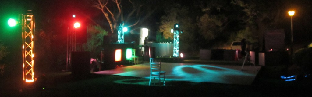 lighting and sound for weddings