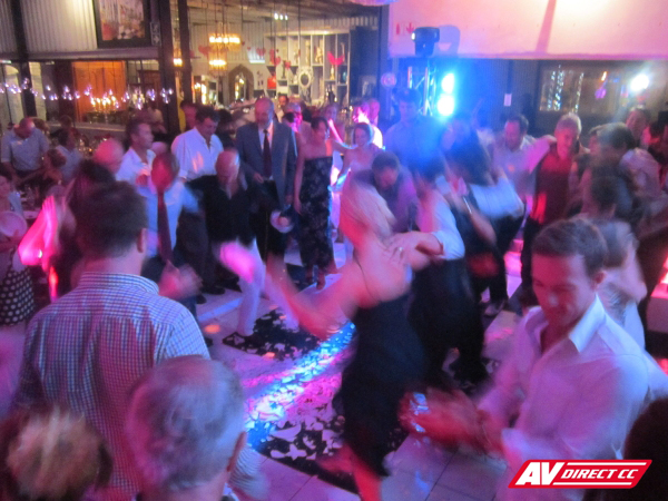 dance floor hire cape town