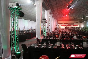 transnet 150th audio visual suppliers - projectors