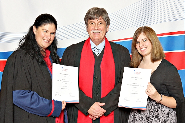 awards graduation false bay college