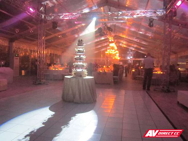 wedding sound, djs and lighting hire