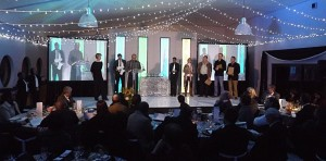 Cape Nature Annual Staff Awards - Ganzekraal - stage set design and lighting