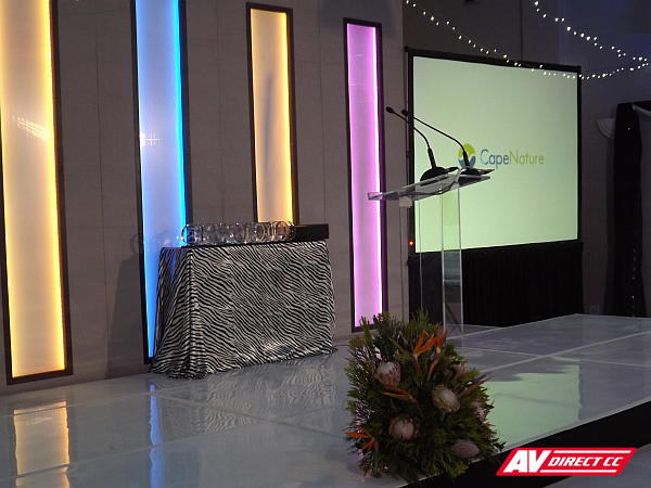sound lighting and av for year end fucntions