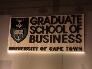 UCT Graduation Ball 2013 - Graduate School Of Business