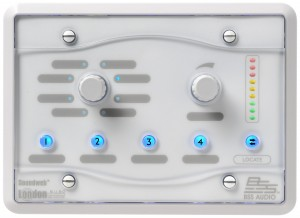 BSS BLU-8v2 Zone Controller - Audio installation - Shimmy Beach Club, Waterfront, South Africa