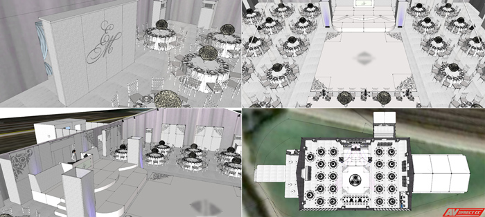 3D Planning - Wedding Pics