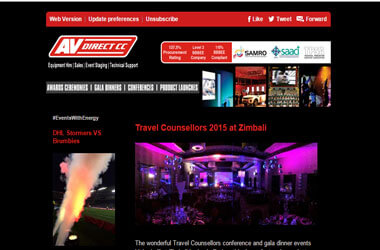 Be Inspired - Travel Counsellors 2015 #EventsWithEnergy