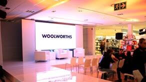 Woolworths LED Screen and Set