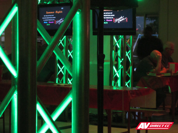 Karaoke Evening: Truss Systems & AV Hire