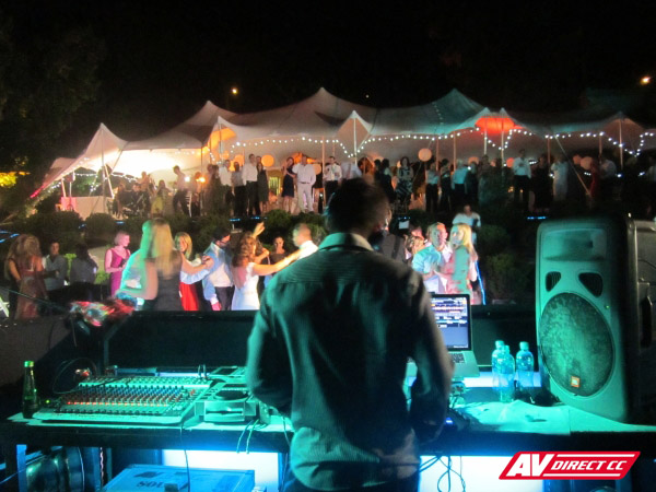 dj equipment services for weddings