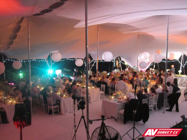 sound lighting and audio visual suppliers cape town