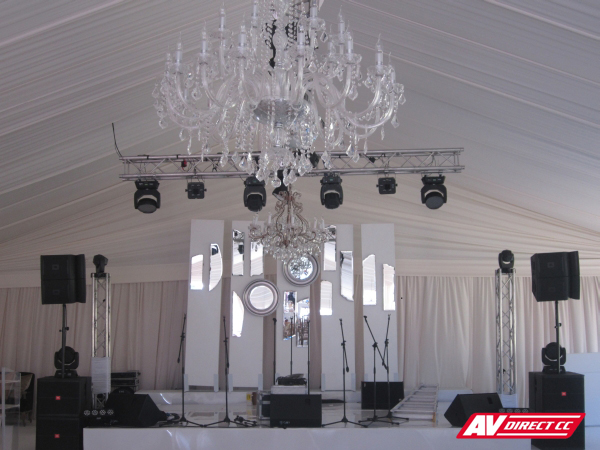 lighting, sound and av supplier webersburg estate