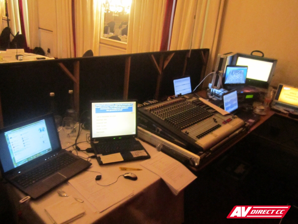 audio visual equipment mount nelson hotel cape town