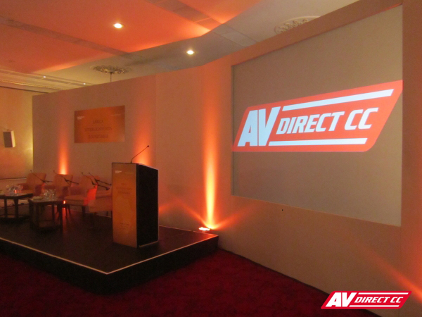 conference equipment hire for mount nelson hotel
