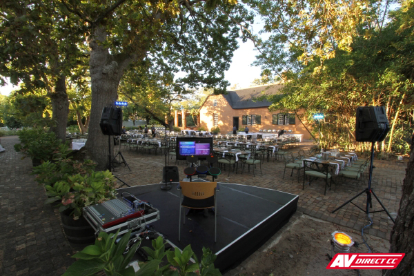 stage lighting and sound hire cape town