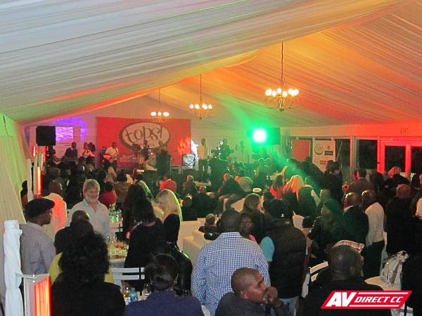 spar sound and lighting for tops gugulethu wine festival