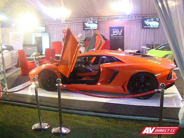 Red Ferrari Expo - Top Gear Festival Durban Set Design