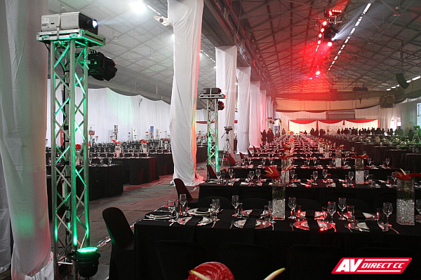 projectors av lighting and sound hire south africa