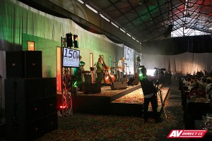 band sound and staging hire cape town jhb and dbn