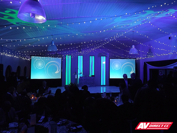 Cape Nature - gala evening and awards show - lightboxes, glow and sets