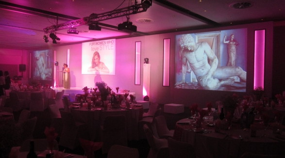 conference set design and corporate event concepts