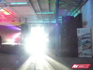 Freshly Ground Waterfront Show - Sound and lighting by AV Direct