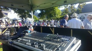Steenberg Carols by Candlelight, Sound desk Soundcraft SiCompact