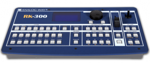 pulse rk-300 controller for digital scaling and switcher
