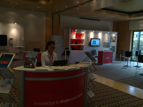 expo area - itron 2013