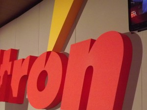 Itron Main Conference 2013 - logo design