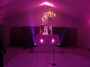 wedding lighting, sound and dj equipment hire - av direct