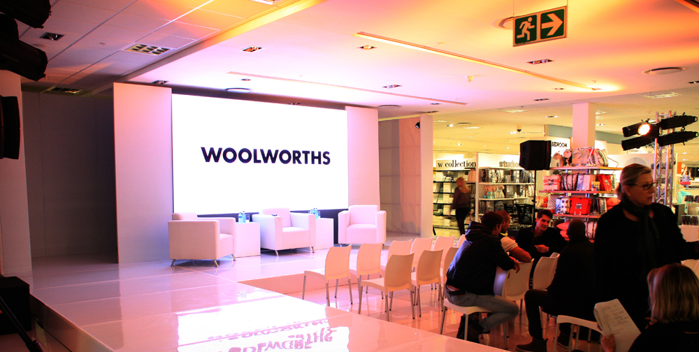 woolworths summer launch photo - av direct - Fred Barker