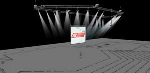 3D Technical drawing - Sierra Leone Venue Audio Visual Installation - AV Direct
