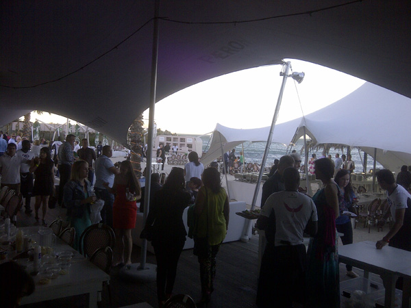 ENS Africa Launch - Grand Beach Cafe