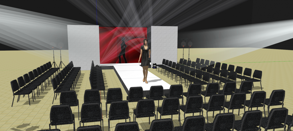 Fashion runway and ramp design