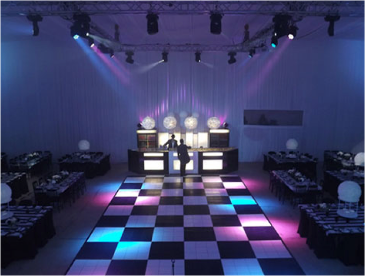 dance floor and dj equipment hire cape town