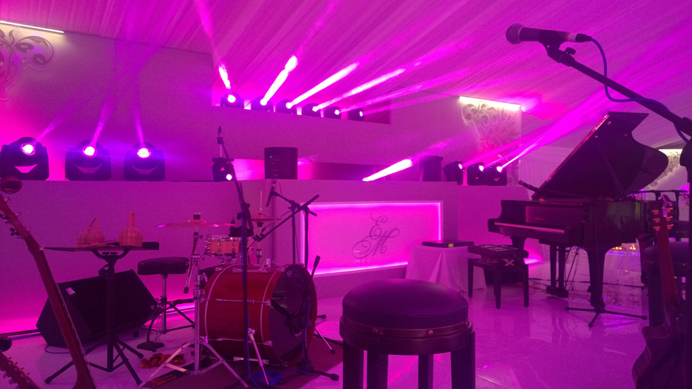 stage audio and lighting delaire graff estate