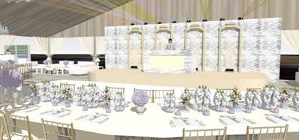 Wedding Stage & DJ